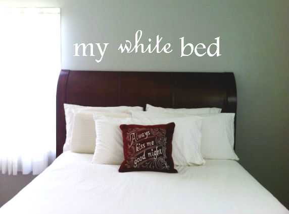 my-white-bed