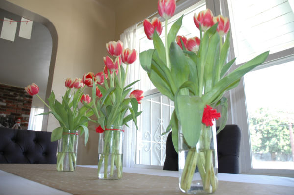 tulips-sock-monkey-party-centerpieces