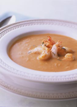 pumpkin shrimp soup
