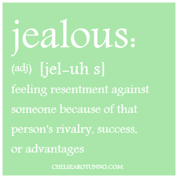 how to let go of jealousy